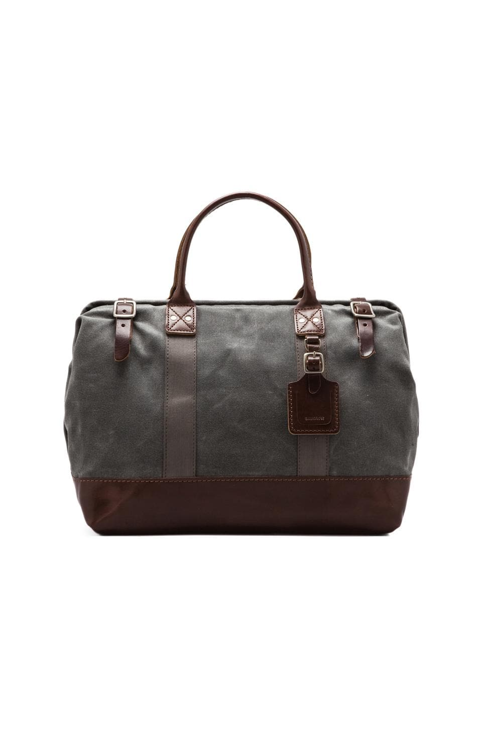 Billykirk No. 165 Medium Carryall in Ash Wax/Brown