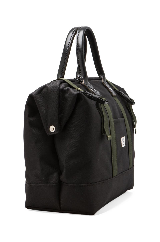 "Billykirk Medium 16"" Sport Carryall in Black/ Olive Sport"