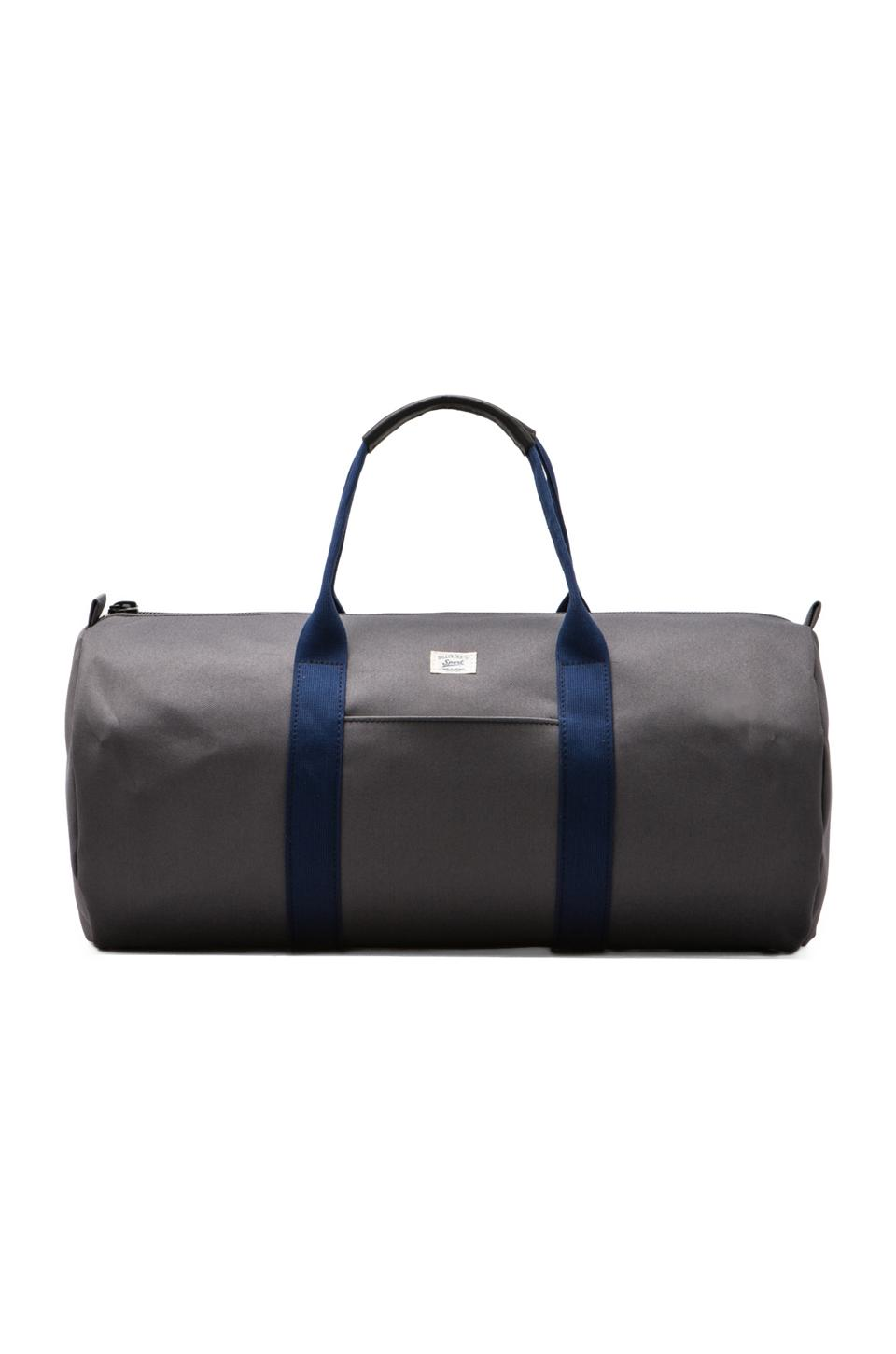 Billykirk Duffle Bag in Grey/ Navy Sport