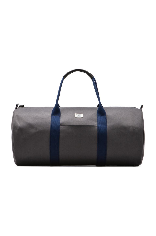 Billykirk Duffle Bag in Grey/ Navy Sport