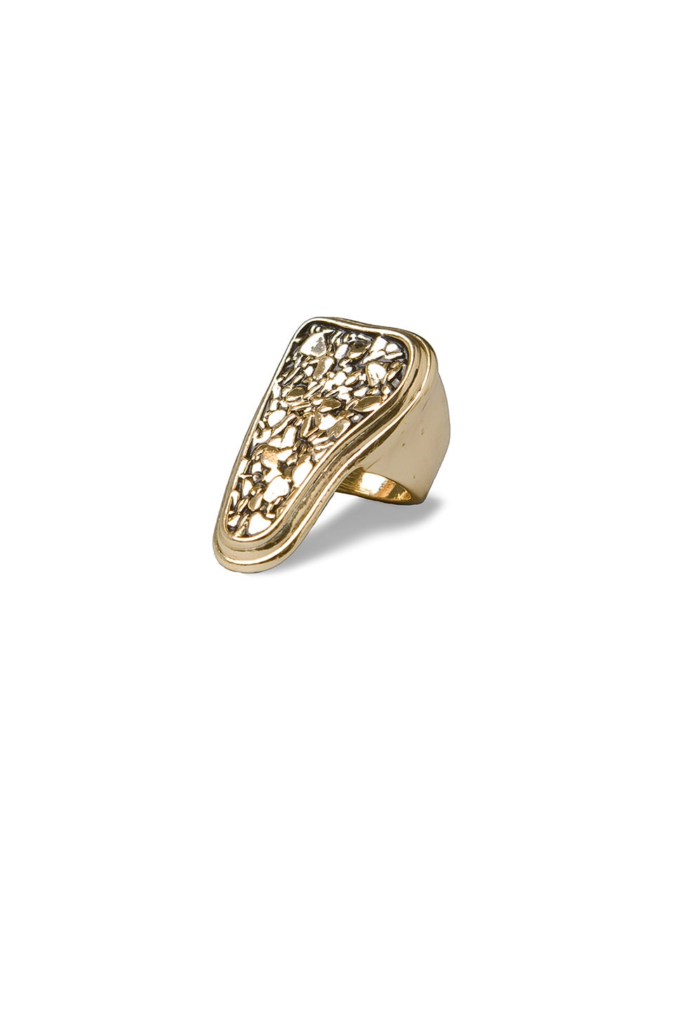 Belle Noel Nugget Cocktail Ring in Gold