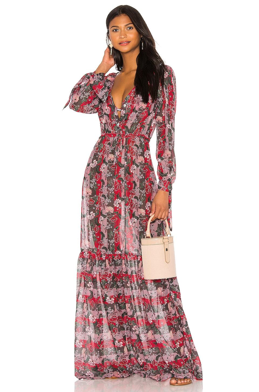 BOAMAR Zain Maxi Dress in Charm Brown