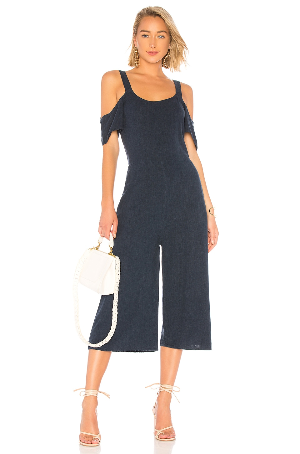 SEASIDE LINEN JUMPSUIT