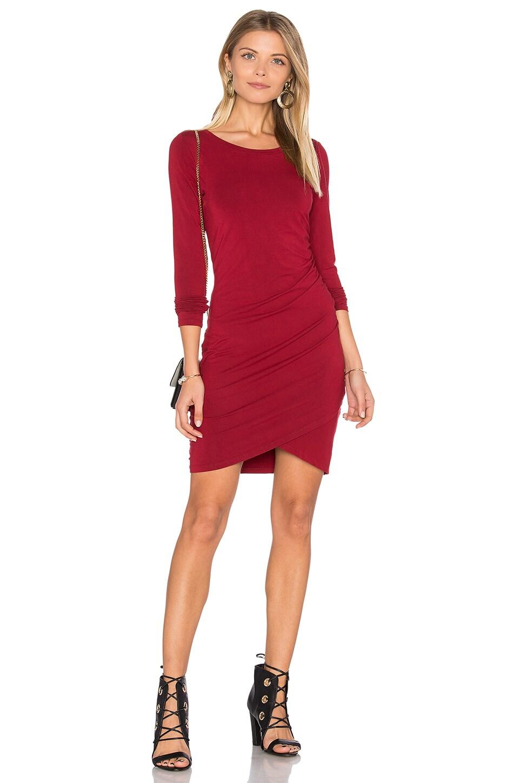 Jersey Ruched Dress by Bobi