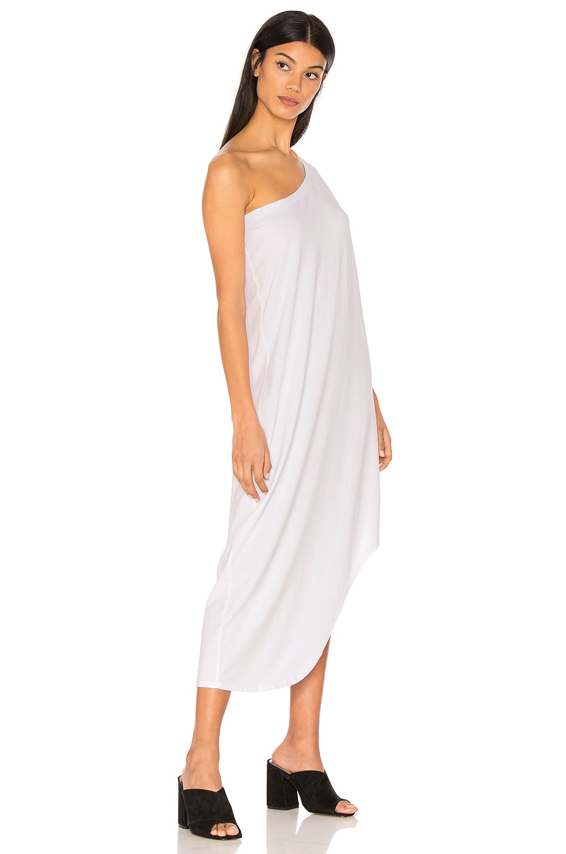 Modal Jersey One Shoulder Maxi Dress by Bobi