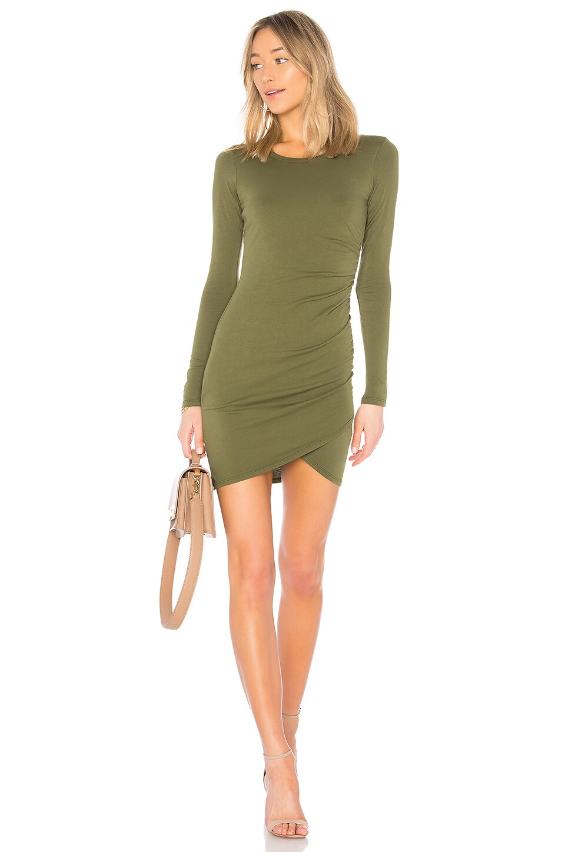 Bobi Supreme Jersey Mini Dress in Cargo