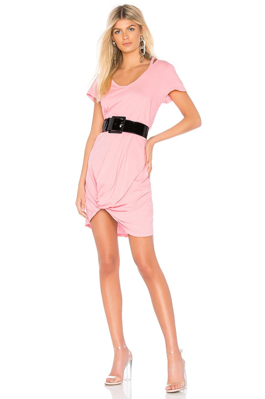 Lightweight Jersey Knotted Dress