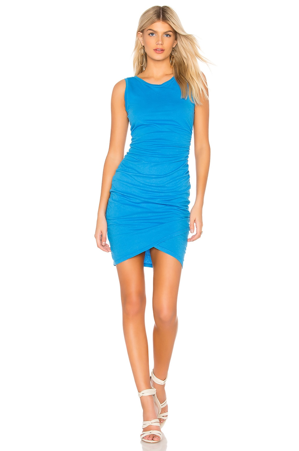 Supreme Jersey Ruched Bodycon Dress