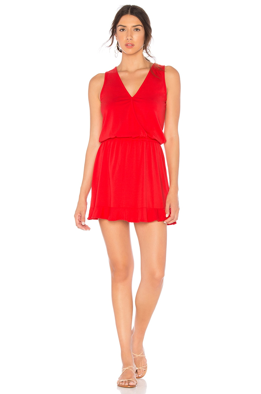 Wrap Top Mini Dress