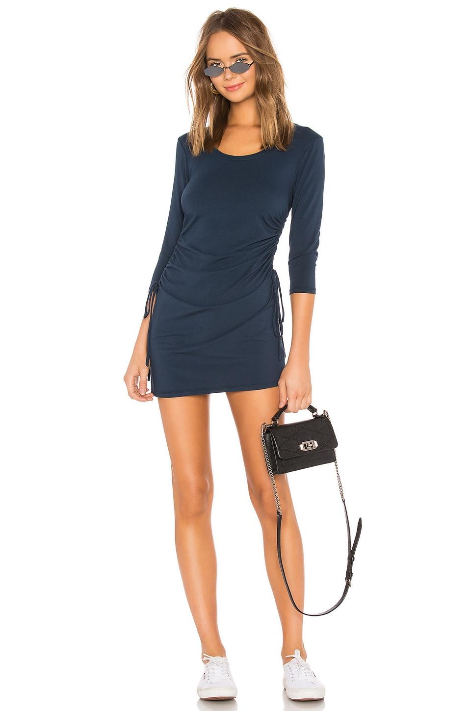 Modal Jersey Ruched Mini Dress