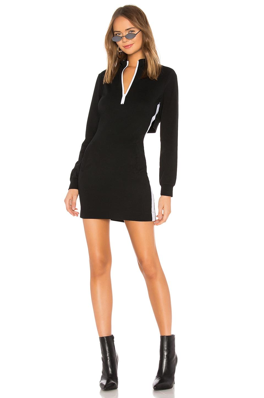Athleisure Jersey Zip Dress