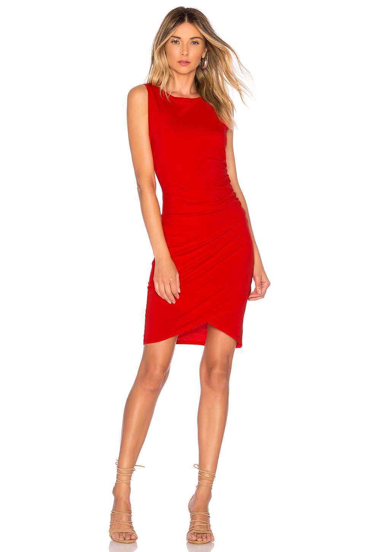 Supreme Jersey Ruched Mini Dress
