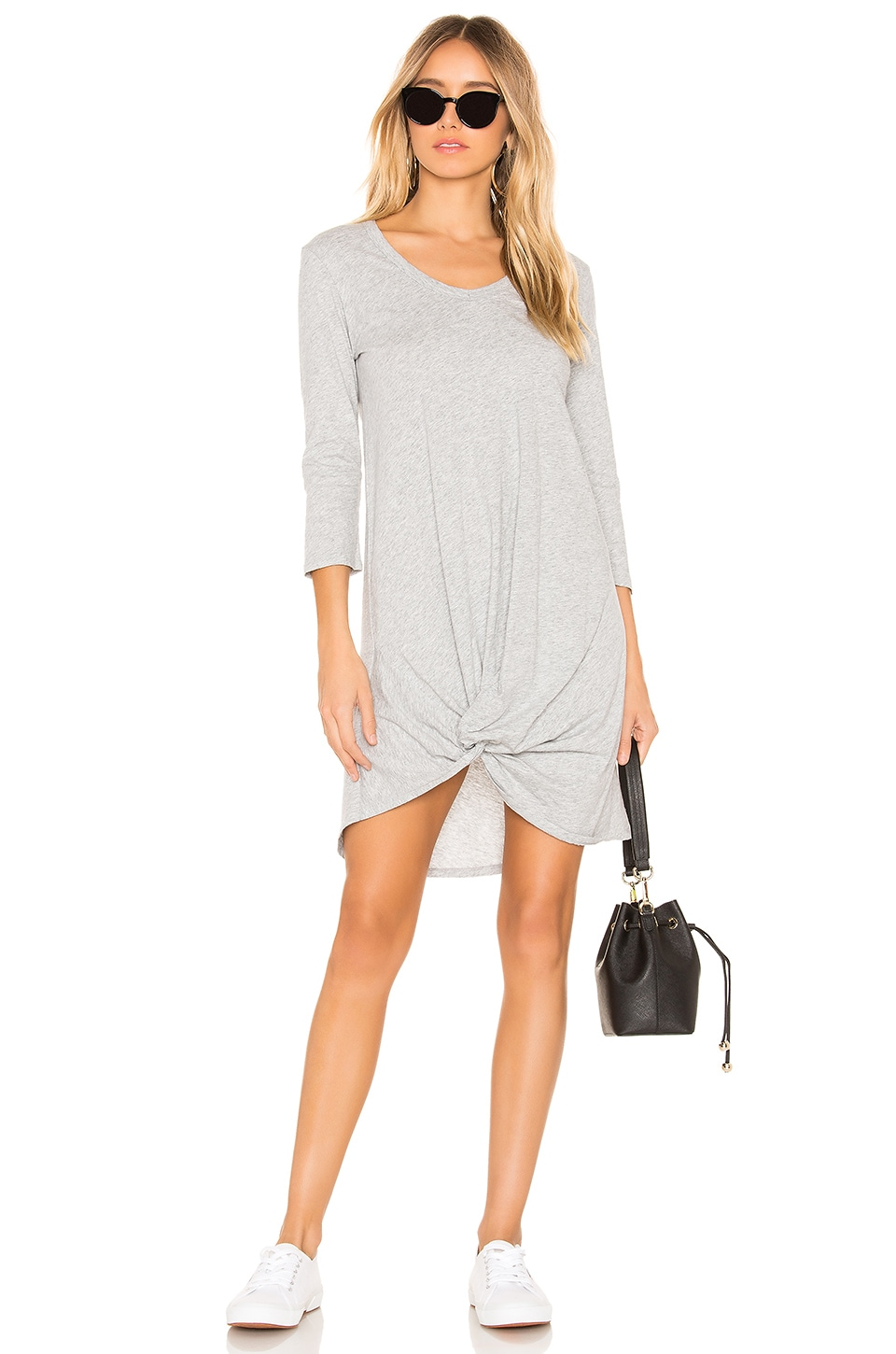 Supreme Jersey Knot Front Dress