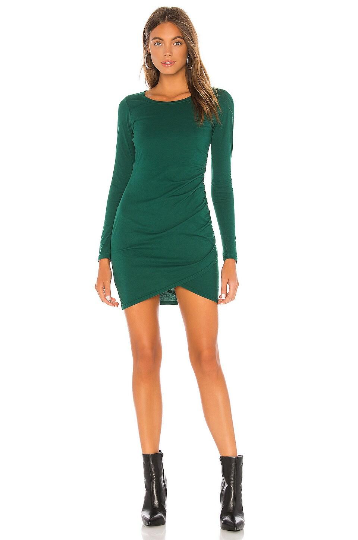 Bobi Supreme Jersey Dress in Spruce