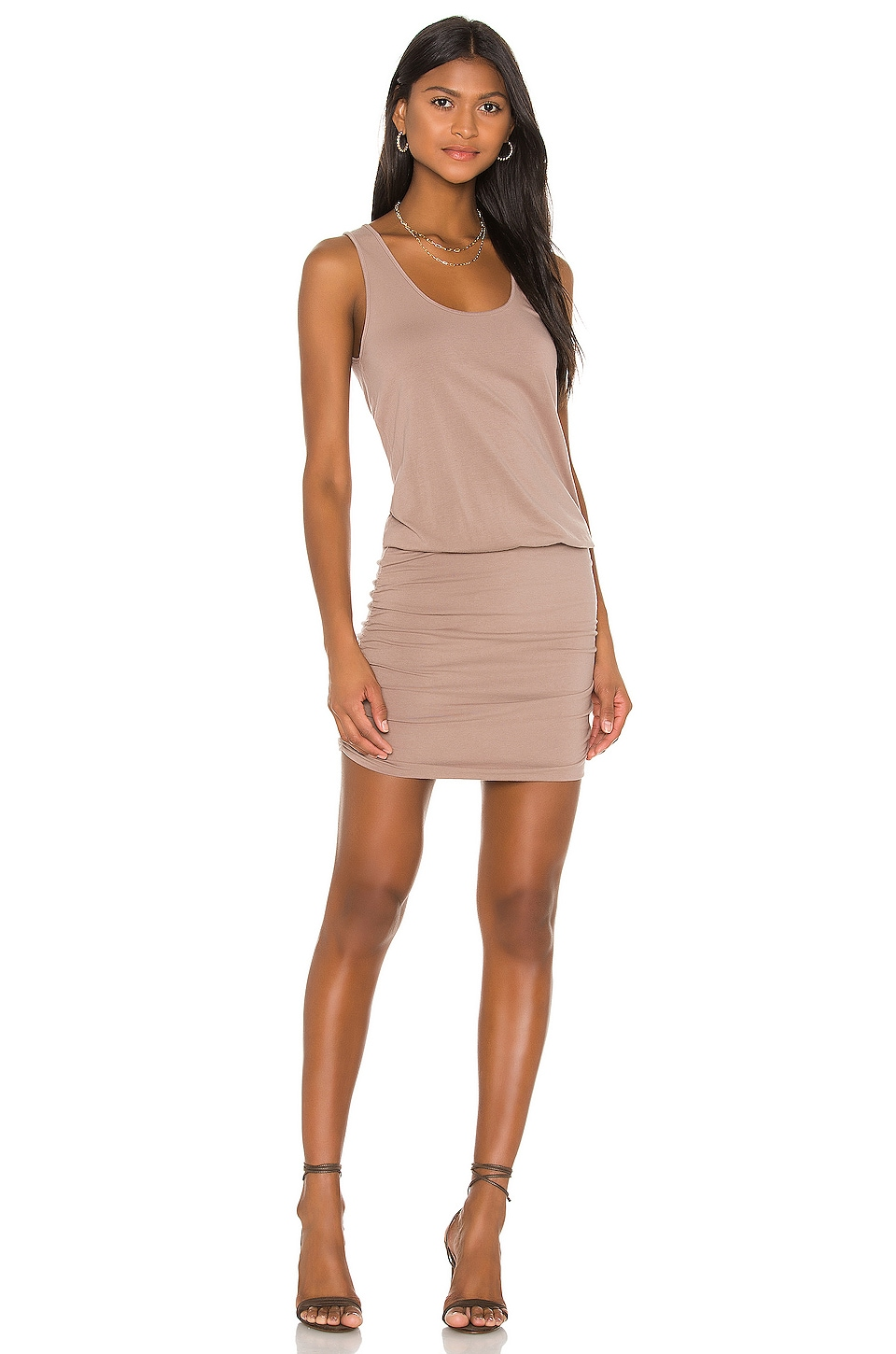 Draped Modal Jersey Mini Dress             Bobi                                                                                                       CA$ 92.43 2