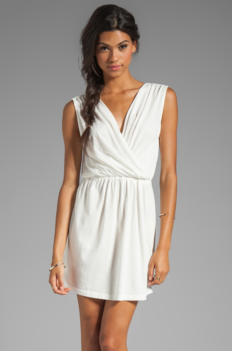 Bobi Supreme Jersey Dress in Light