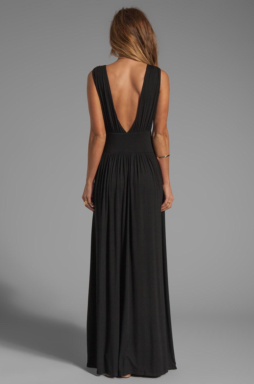 Bobi Jersey Maxi Dress in Black