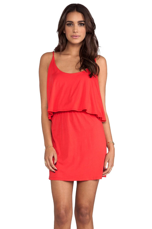Bobi Jersey Mini Dress in Lover