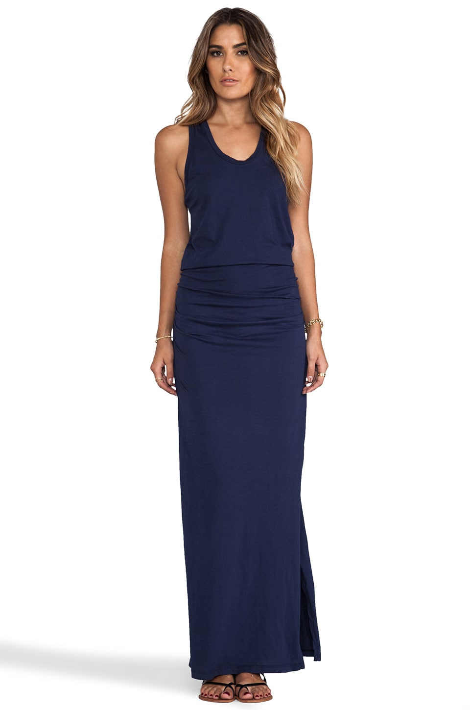Bobi Supreme Maxi Dress in Marina