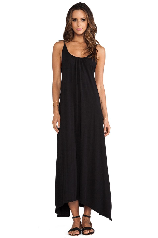 Bobi Low Back Dress in Black