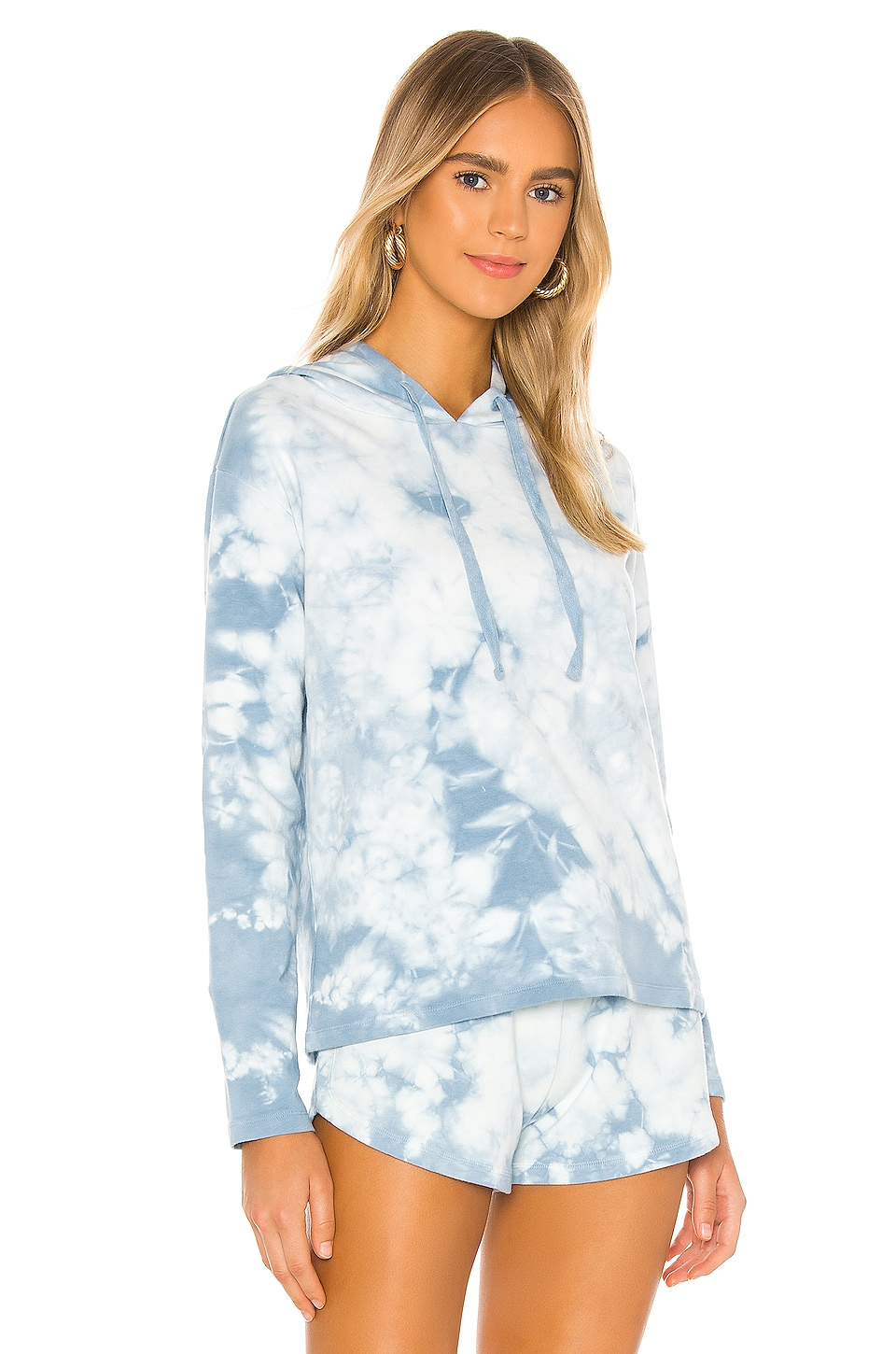 Tie Dye Terry Sweatshirt, view 2, click to view large image.