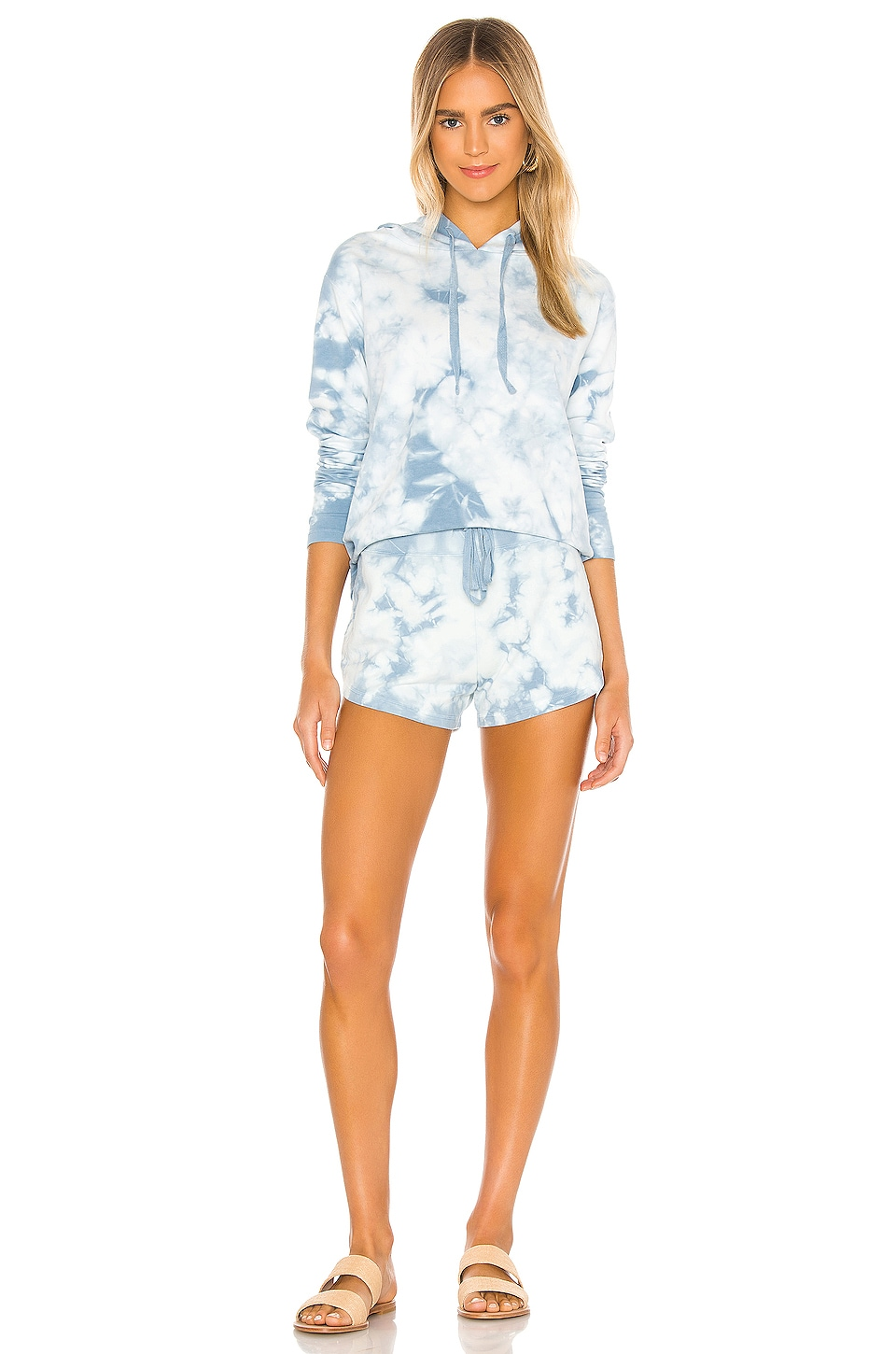 Tie Dye Terry Sweatshirt, view 4, click to view large image.