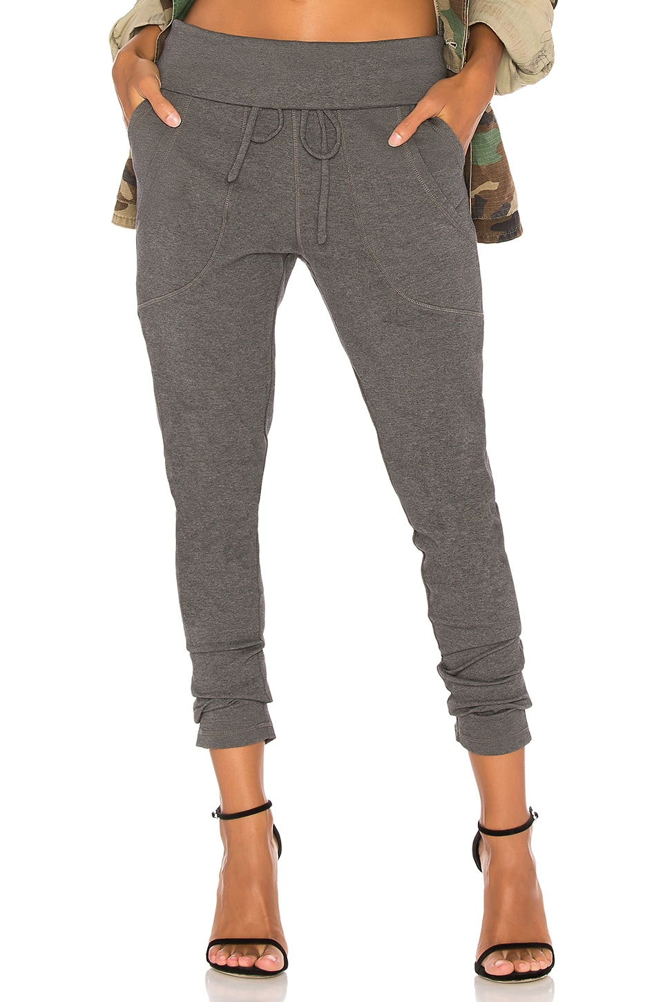 Bobi Luxe Lounge Jogger in Charcoal