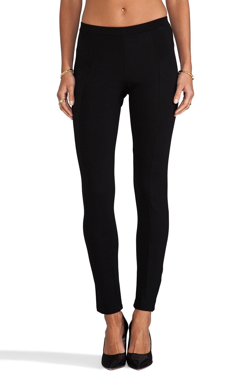Bobi Ponte Legging in Black