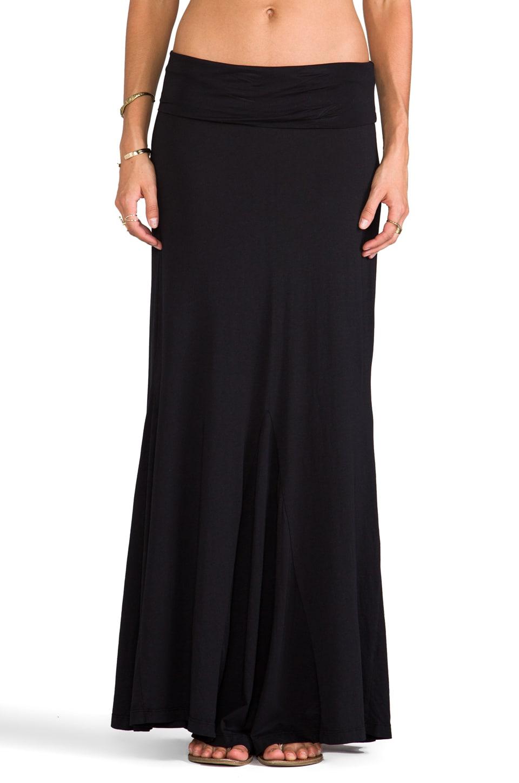 Bobi Maxi Skirt in Black