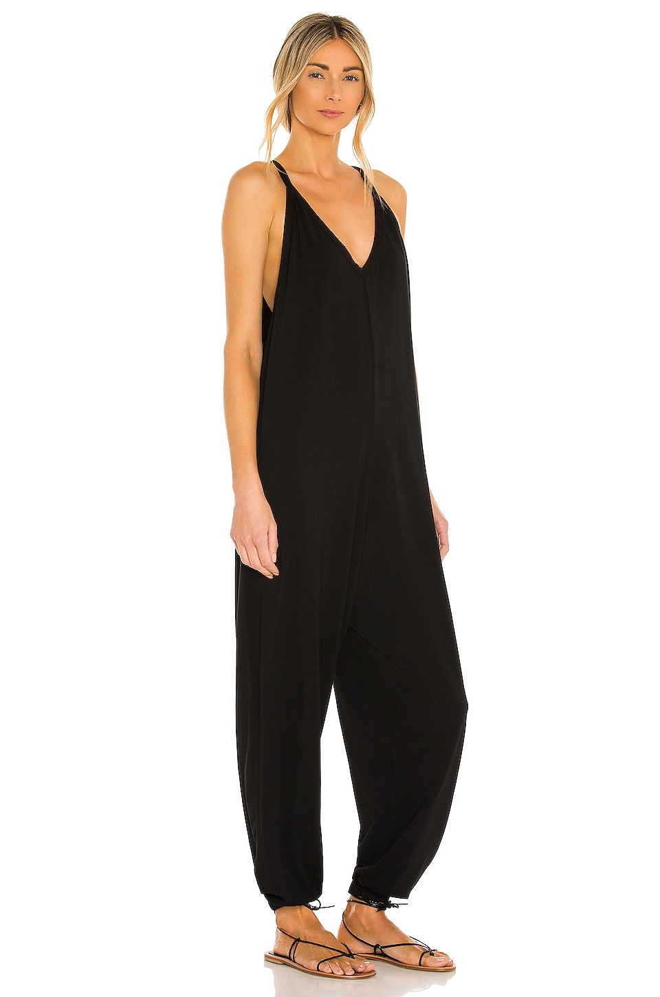 Draped Jumpsuit, view 2, click to view large image.