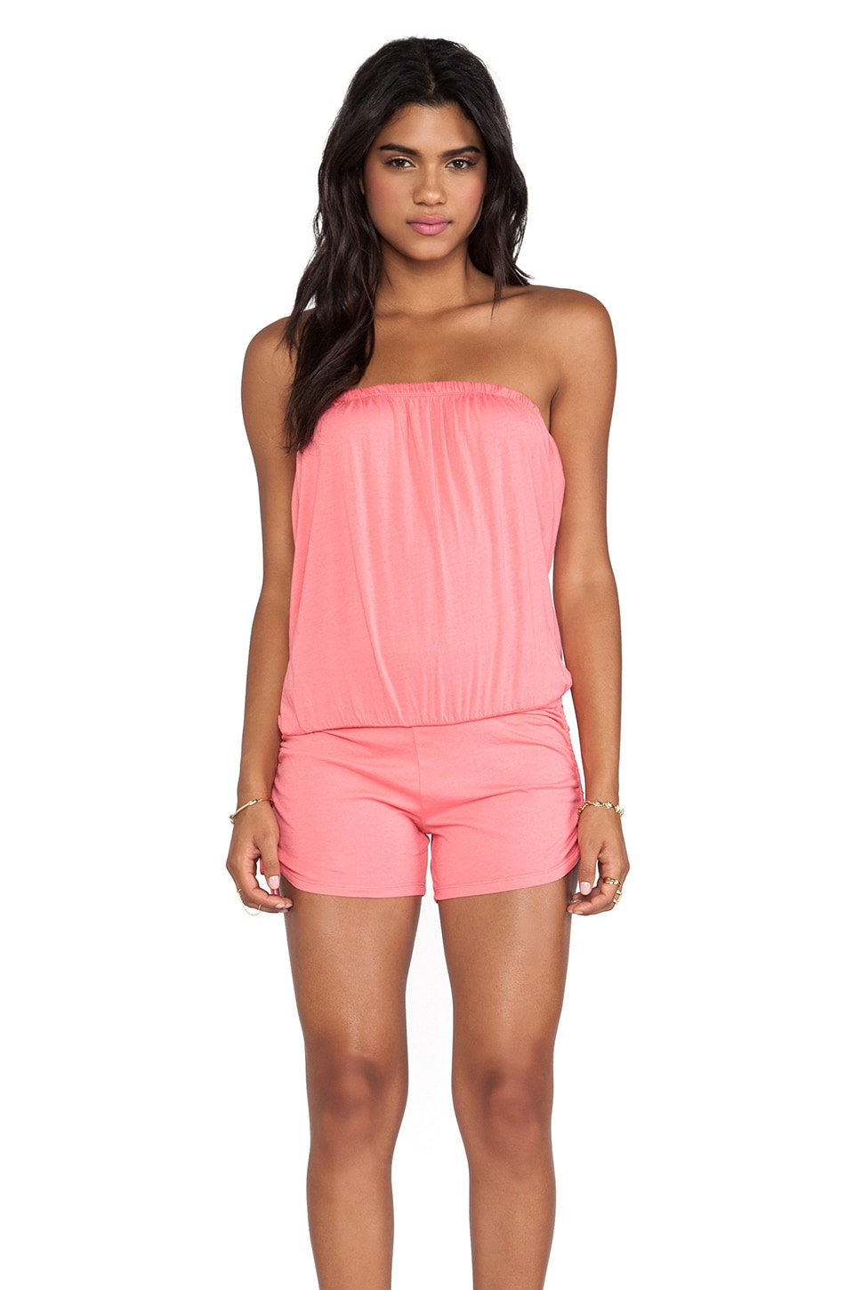 Bobi Supreme Jersey Romper in Sunset