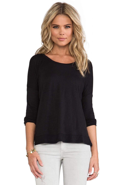 Bobi Long Sleeve Dolman in Black