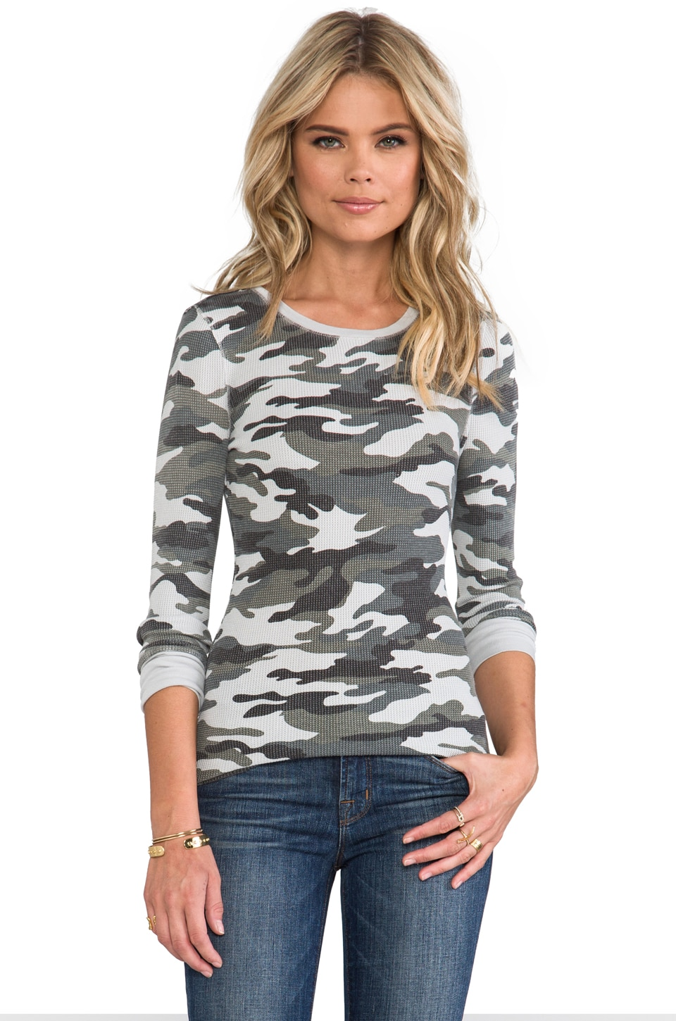 Bobi Thermal Long Sleeve in Camo