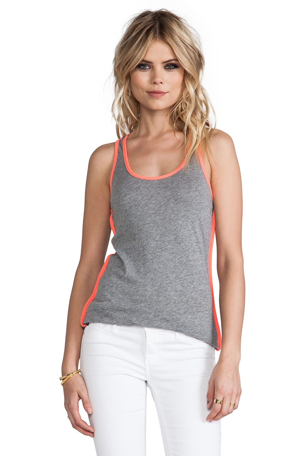 Bobi Light Weight Colorblock Tank in Thunder & Tetra
