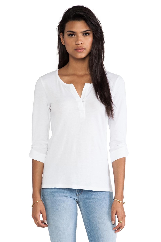 Bobi Light Weight Jersey Long Sleeve in White