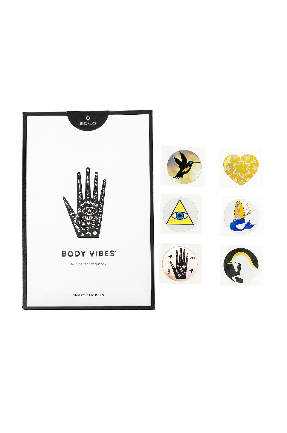 Body Vibes Sacred 6 Variety Pack 6 Count