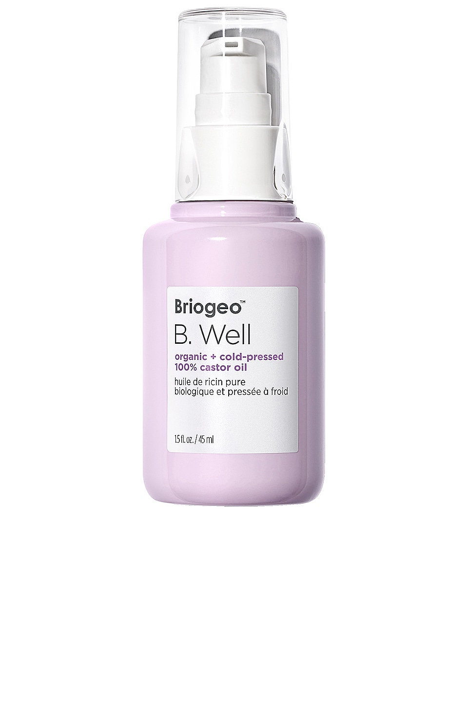 Briogeo B. Well Organic + Cold-Pressed 100% Castor Oil
