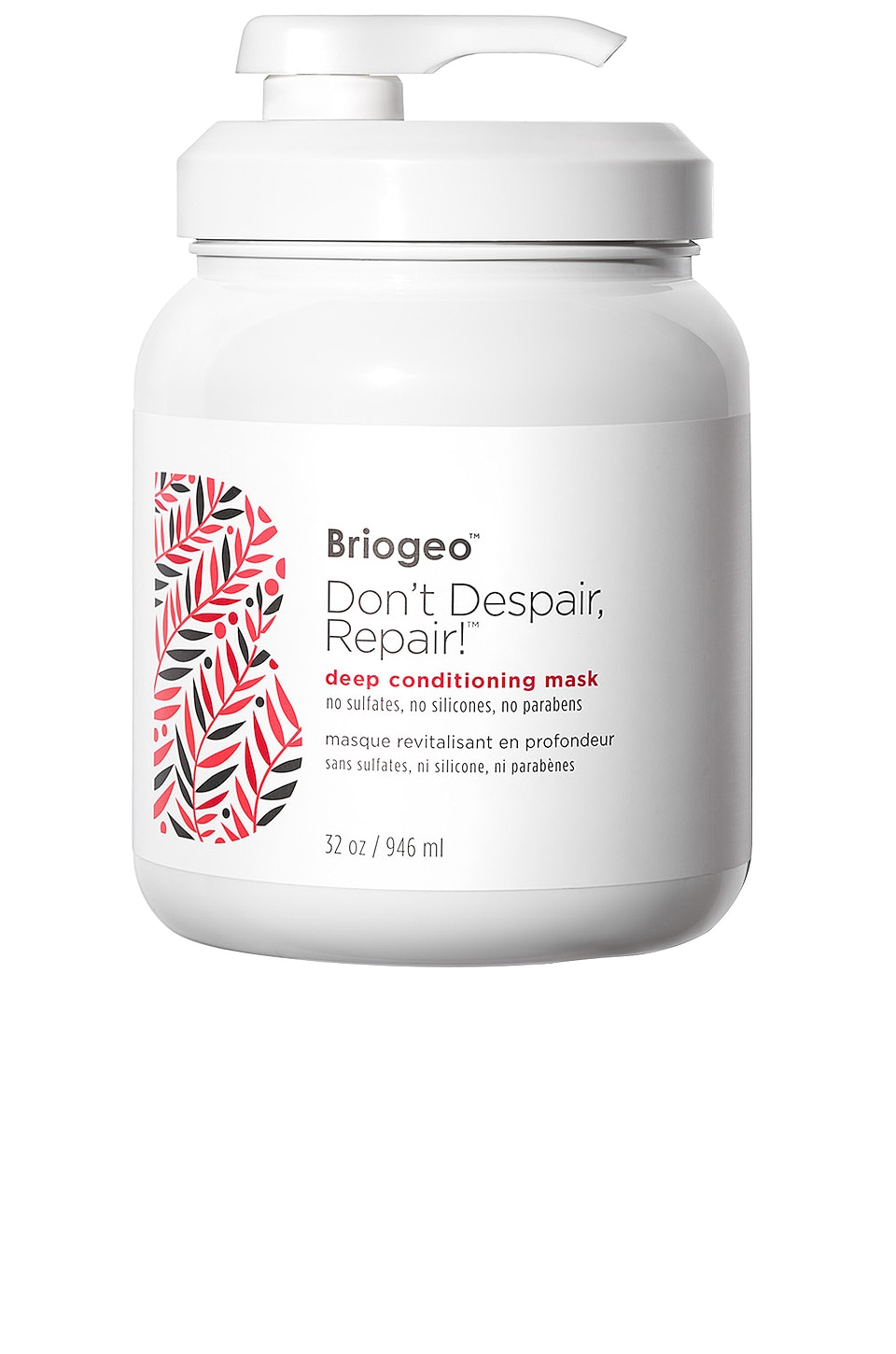 Briogeo Don't Despair, Repair! Deep Conditioning Mask Liter