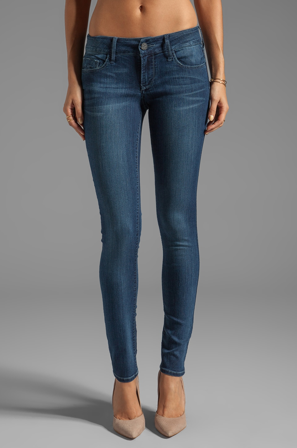 Black Orchid Skinny in Blue Empress