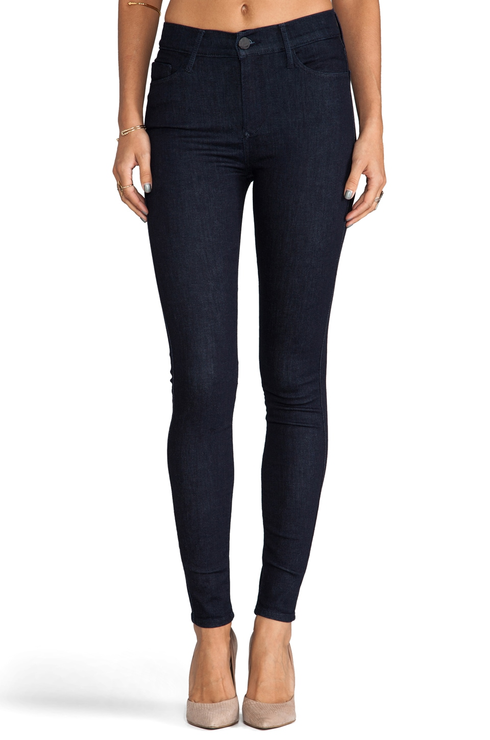 Black Orchid High Rise Skinny in Queen of Holland