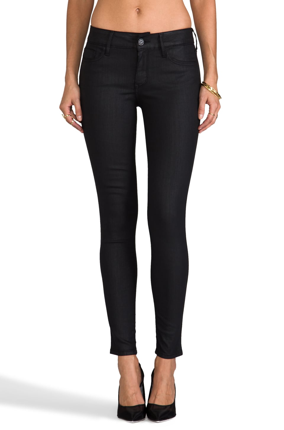 Black Orchid Coated Skinny in Equinox