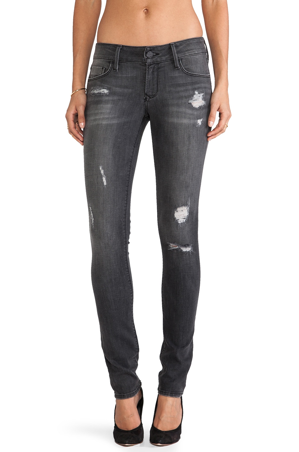 Black Orchid Skinny Leg in Columbite