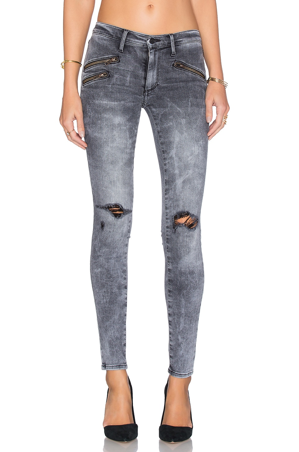 Billie Zipper Skinny by Black Orchid
