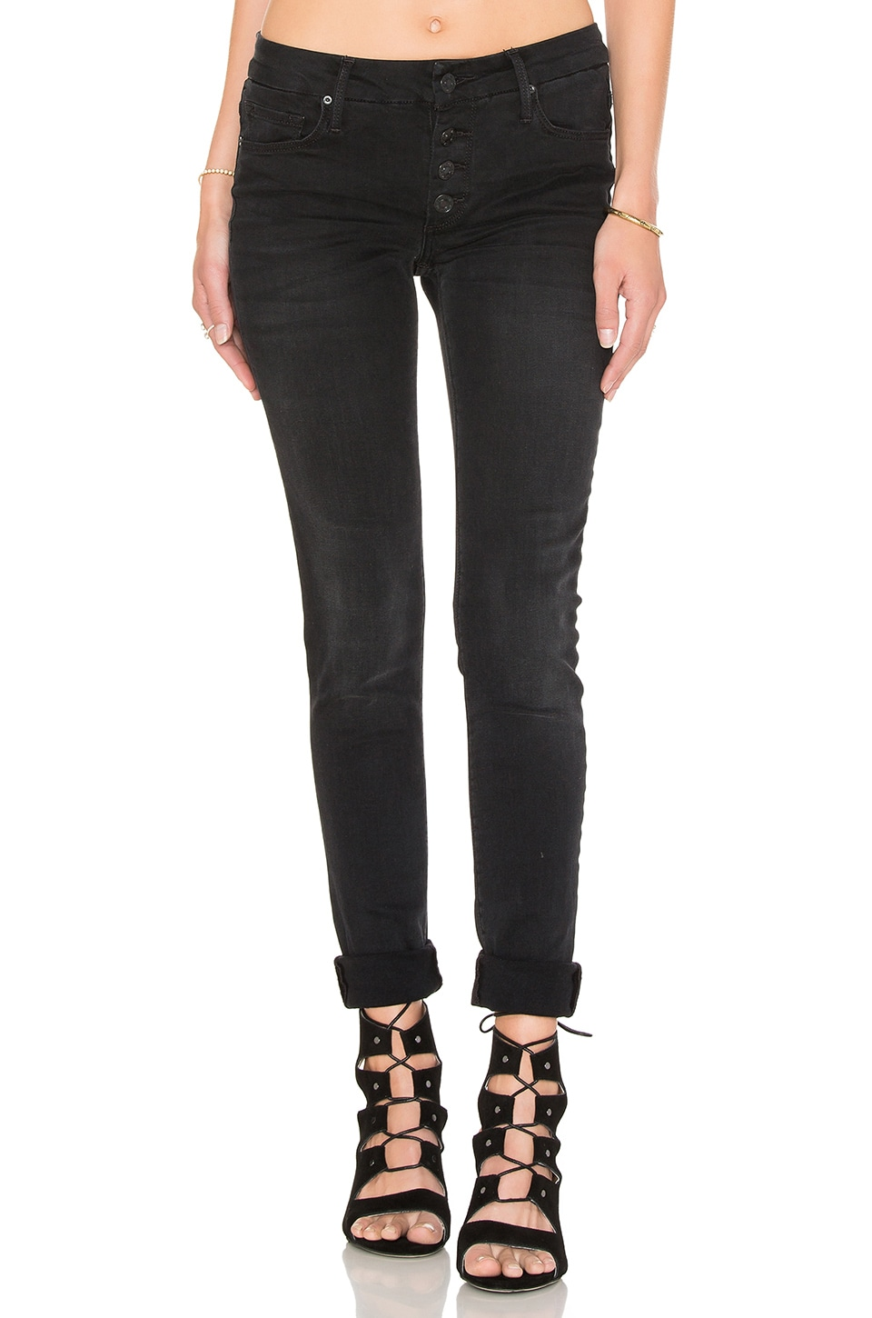 Candice Mid Rise Super Skinny by Black Orchid