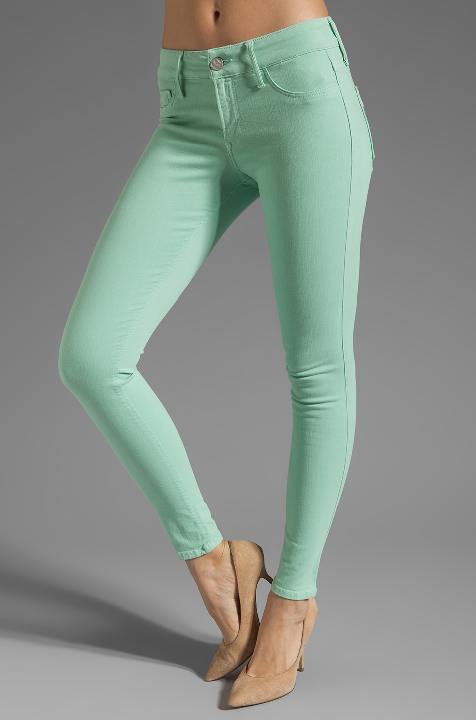 Black Orchid Skinny in Mint Candy