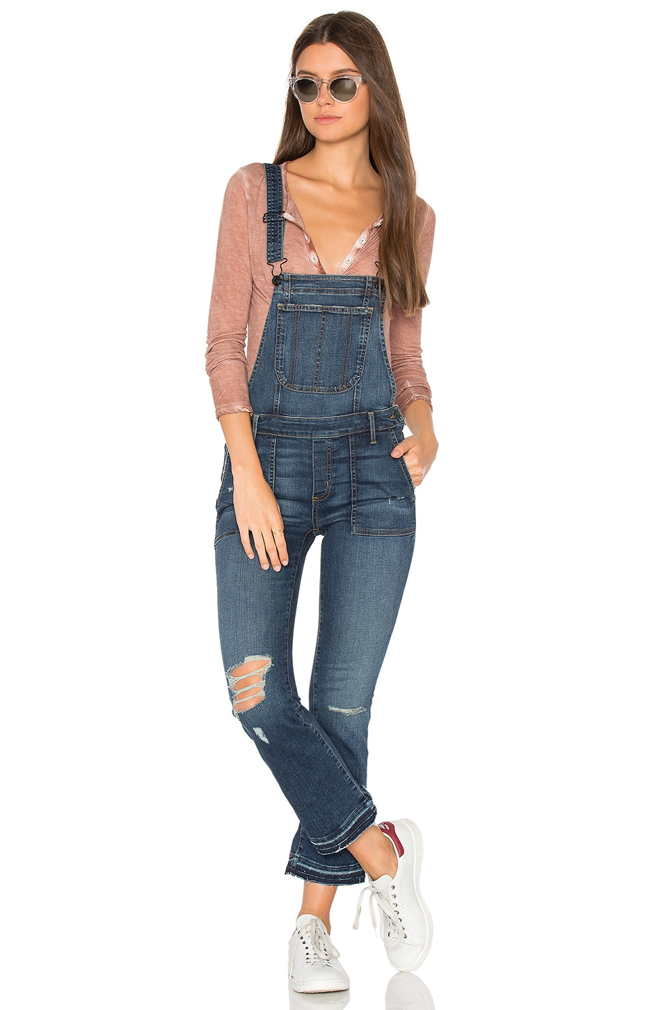 x REVOLVE Mia Crop Overall by Black Orchid