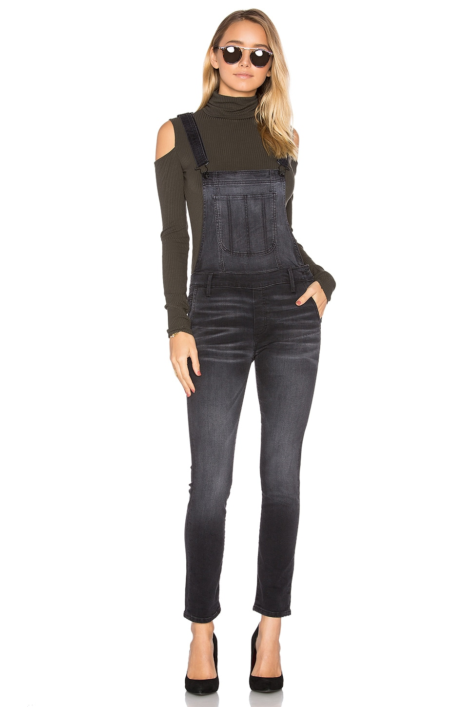 The Skinny Overall by Black Orchid