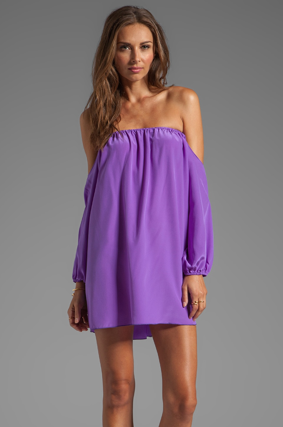 Boulee Audrey Dress in Purple