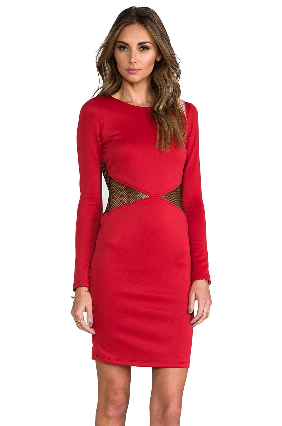 Boulee Lawrence Dress in Red