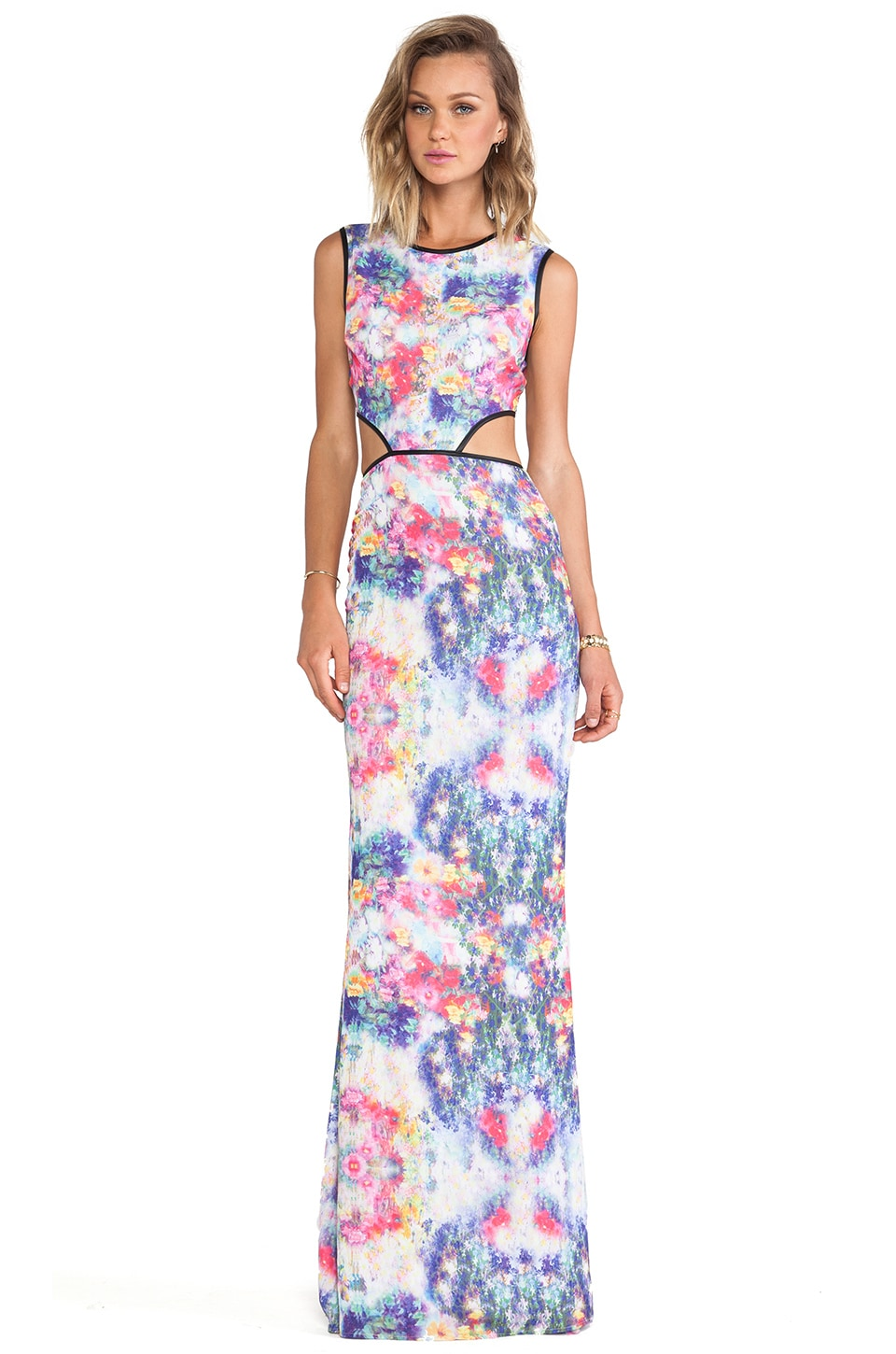 Boulee Max Maxi Dress in Ballet Print